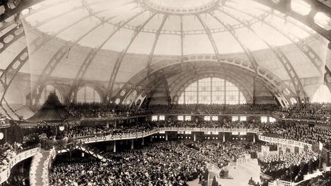 Festhalle im Jahr 1909