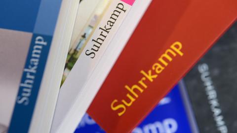 Bücher des Suhrkamp-Verlags