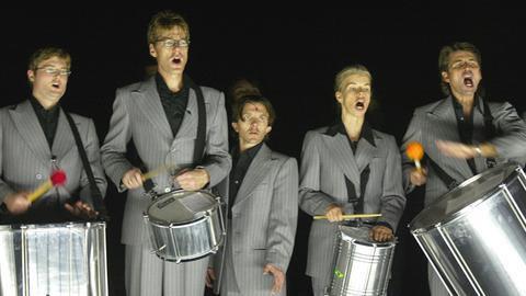Mitglieder des Ensemble Modern