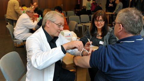 Impfung gegen Schweingrippe