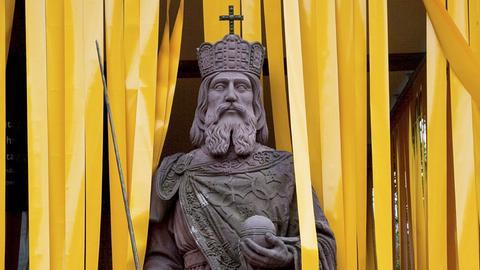 Statue Karl des Großen