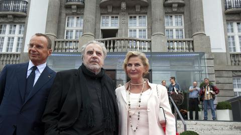 Maximilian Schell bei der Eröffnungsfeier