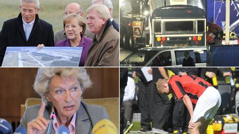 Eintracht, Landebahn, Roth, Flughafen-Attacke
