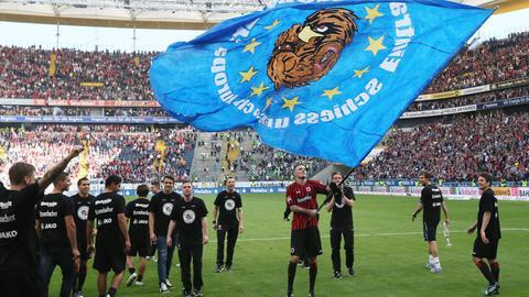 Eintracht Jubel 2013