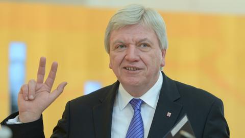 Bouffier nach Wiederwahl 2014
