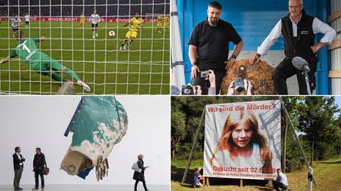 Eintracht im Pokalfinale, Frankfurter Bombenentschärfer, documenta in Kassel, Fahndungsplakat Johanna Bohnacker