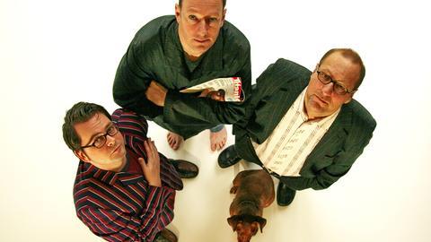 Die Titanic-Autoren Oliver Maria Schmitt, Martin Sonneborn und Thomas Gsella (von links)