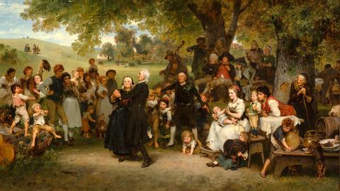 """Ausstellungen Museum Wiesbaden """"Ludwig Knaus - Homecoming"""""""