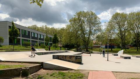 Skatebahn Plaza Darmstadt