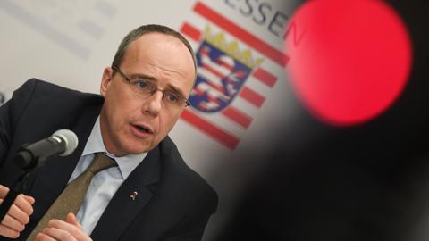 Hessens Innenminister Peter Beuth.
