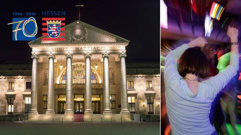 70 Jahre Hessen: Eine Geburtstagsparty der besonderen Art feiert hr1 im Wiesbadener Kurhaus