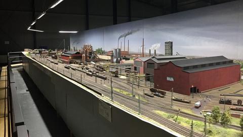 Modelleisenbahn im Odenwald