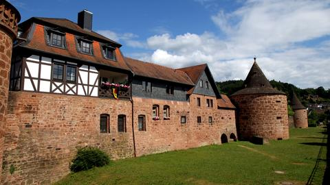 Büdingen Altstadt Stadtmauer