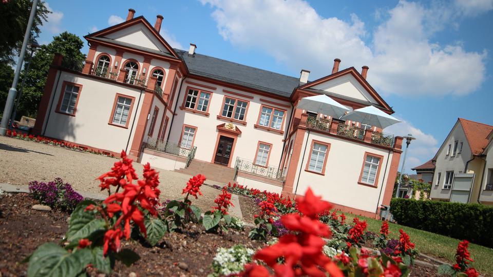 Schloss Fechenbach im Dieburger Zentrum