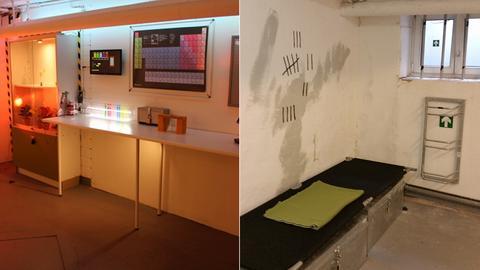 Zwei Räume von Escape Games in Frankfurt