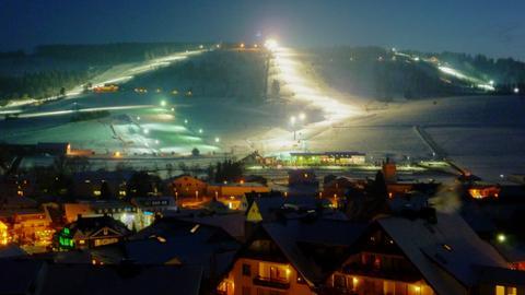 Flutlicht-Skifahren in Willingen