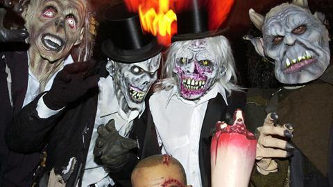 Burg Frankenstein Halloween
