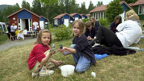 Kinder in der Jugendherberge Hohe Fahrt am Edersee (Archivbild von 2000)