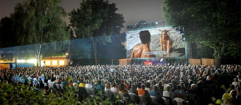 Open-Air-Kino im Freibad Bad Vilbel