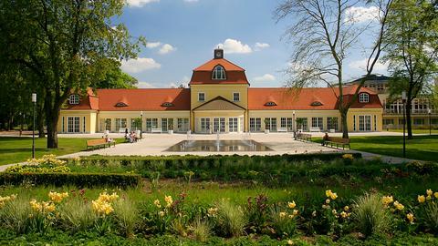 Kurhaus und Park: Bad Hersfeld