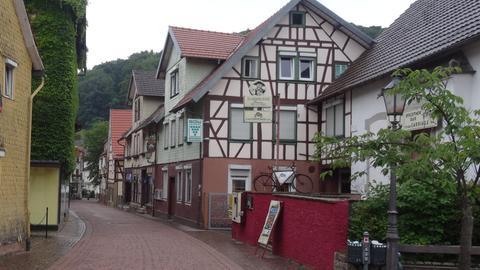 Altstadtgasse in Lindenfels
