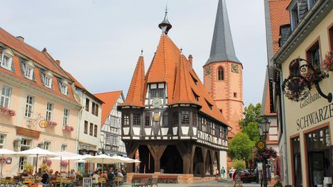 Michelstadt Rathaus