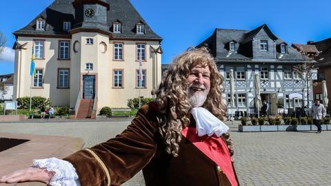 Stadtführer Heribert Daume