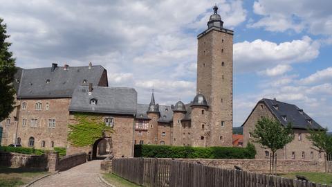 Blick auf das Steinauer Schloss