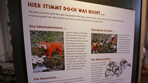 Ausstellung Steinzeitkinder