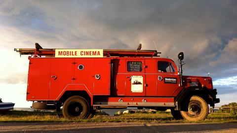 Der knallrote Feuerwehr-Truck von Tobias Rank