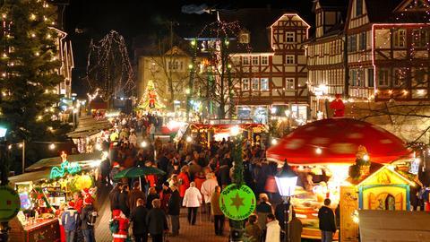 Weihnachtsmarkt Rotenburg an der Fulda