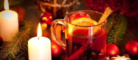 Weihnachtsmarkt Glühwein Sujet