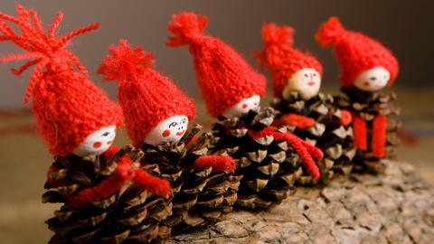 Weihnachtsmarkt Sujet Zapfen