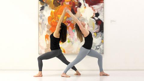 Die Yoga-Lehrerinnen Karolina Golaszewska und Tatjana Bernet.