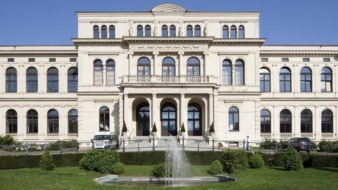 Gesellschaftshaus des Frankfurter Zoos