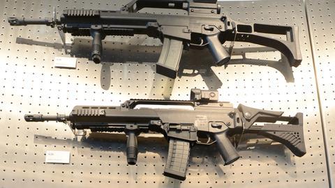 G36-Gewehre bei Heckler & Koch