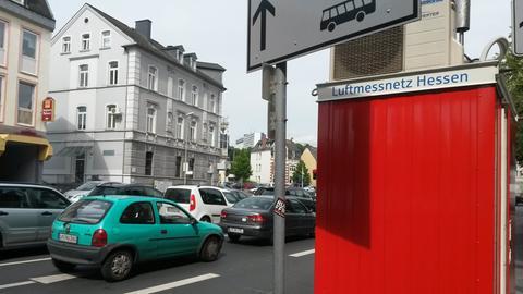 Luftmessstation in Limburg