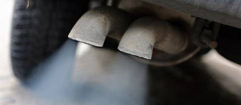 Autos mit hohem Schadstoffausstoß dürfen nicht in Darmstadt fahren.