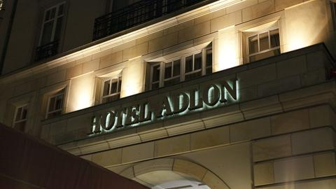 Das Adlon-Hotel in Berlin