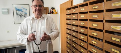 Gerhard Wetzig, Mitbegründer der Ärztegenossenschaft im Odenwald