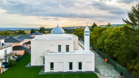 Mubarak-Moschee der Ahmadiyya-Gemeinde in Wiesbaden-Dotzheim