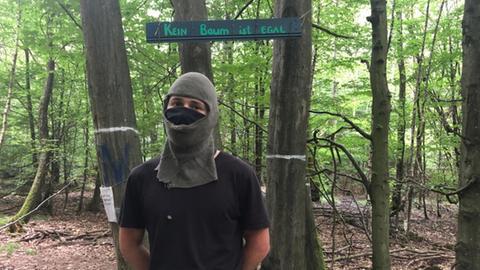 Aktivist Dannenroeder Forst