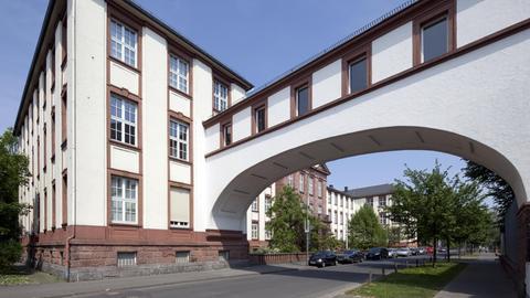Der Justizpalast mit dem Amtsgericht in Gießen