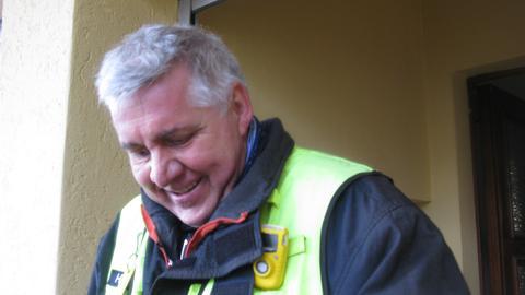 Stadtbrandinspektor Armin Heberling
