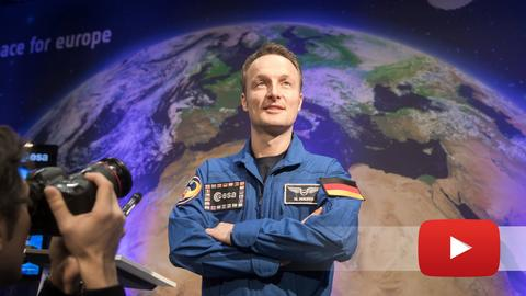 ESA-Astronaut Maurer