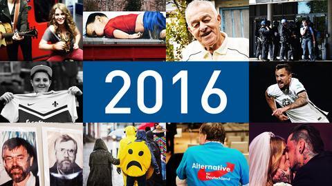 Der Jahresrückblick: Das hat uns 2016 bewegt.