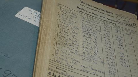 Auschwitz Prozess Dokumente