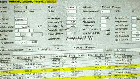 Geldwerter Vorteil von 402,82 Euro: Die AWO stellte Zübeyde Feldmann auch einen Dienstwagen