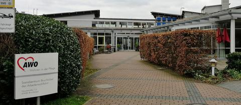 Das AWO-Sozialzentrum in Bruchköbel