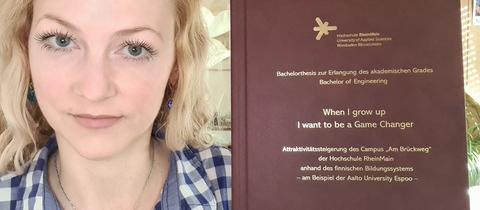 Will die Benotung ihrer Bachelor-Arbeit nicht akzeptieren: Studentin Rebecca Sprösser